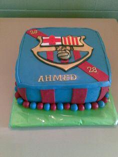 Barcelona cake  www.ibakeacake.nl
