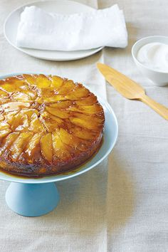 Must-Try Recipe: Caramel Apple Upside-Down Cake Serves 6 to 8 IngredientsFor the topping: 4 tbsp unsalted butter, very soft   1/2 cup packed brown sugar  1/2 tsp ground cinnamon  1 large apple  Grated zest and juice of 1 small lemon For the cake:  1 1/4 cup white rice flour or 1 2/3 cups regular Asian white rice flour  1/4 cup oat flour 1 cup minus 2 tbsp sugar 8 tbsp (1 ...