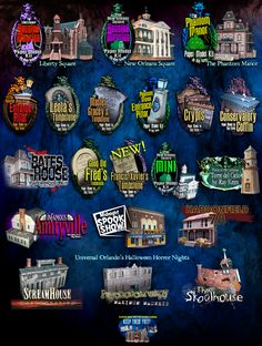 Ray Keim-Paper Model Purgatory, a whole page of spooky buildings, perfect for Halloween decorating. Halloween Village, Halloween Haunted Houses, Scary Halloween, Haunted Mansion, Disney Halloween, Halloween Halloween, Halloween Paper Crafts, Halloween Decorations, Horror House