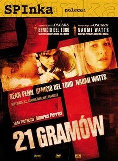 21 gramów / 21 GramsTragiczny wypadek sprawia, że losy trzech rodzin, nie mających pozornie ze sobą nic wspólnego, łączą się.
