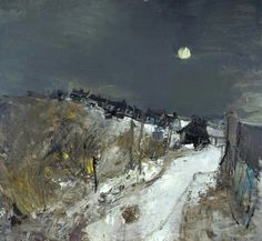 Joan Eardley (1921-1963) Catterline in Winter, 1963.