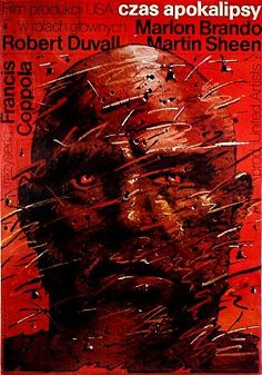 Apocalypse Now - Mindblowing Polish Movie Posters  Best of Web Shrine