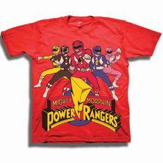 Juvenile T-Shirt Art Deco style White Ranger Power Rangers