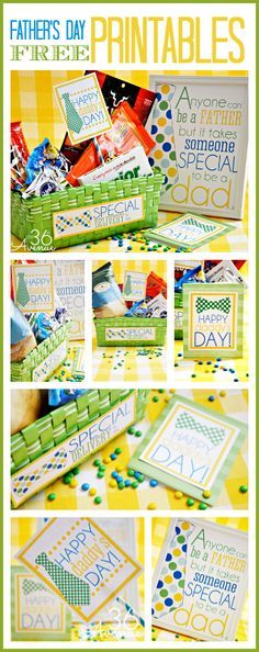 Fathers Day Gift Idea and awesome free printable from the36thavenue.com