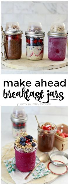 make ahead mason jar recipes