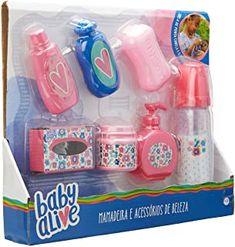 Baby Dolls For Kids, Little Girl Toys, Baby Doll Toys, Toys For Girls, Baby Alive Doll Clothes, Baby Alive Dolls, Barbie Doll House, Barbie Toys, Baby Doll Furniture