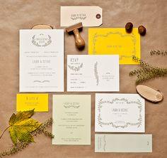 Mister M Studios – Modern Wedding Stationery for the Designer Bride