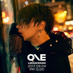 LEEGIKWANG'S 1st new mini album: ONE.