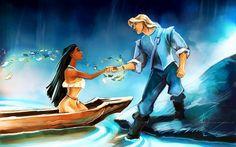 Pocahontas, beauty and the beast, and mulan are by far my favorite disney princess movies Disney Fan Art, Disney Pixar, Walt Disney, Disney E Dreamworks, Deco Disney, Disney Animation, Disney Characters, Disney Artwork, Disney Pocahontas