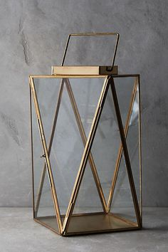 Nantucket Brass Lantern - anthropologie.com
