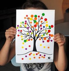 Arbre d'automne en gommettes Autumn Activities, Toddler Activities, Activities For Kids, Autumn Crafts, Autumn Art, Fall Preschool, Preschool Crafts, Diy And Crafts, Arts And Crafts