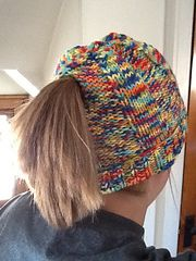Ravelry: Runner's Ribbed Stocking Cap pattern by Kim McMullen