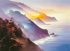 'Big Sur, California' by Hong Leung http://www.SeedingAbundance.com http://www.marjanb.myShaklee.com