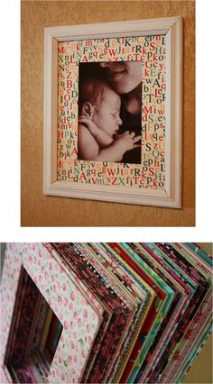 FABRIC COVERED MAT FOR FRAME - DIY