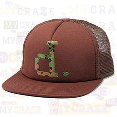DIAMOND SUPPLY CO UN-POLO CAMO MESH SNAPBACK CHOCOLATE BROWN HAT URBAN CAP  #diamondsupplyco #baseballcap #streetwear
