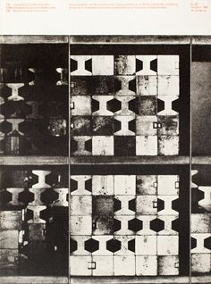 "Cover for issue 6/7 of ""Typografische Monatsblatter"" (1960) by Swiss graphic designer Siegfried Odermatt (b.1926). via TM research archive"