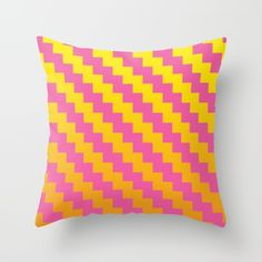 Yellow Orange and Pink Pattern by DavidsSociety6  @society6  #home #decor #throw #pillow #orange #pink #yellow #pattern #products #apartment #digital #chic #fashion #style #gift #idea #society6 #design #shop #shopping #buy #sale #fun #gift #idea #accessory #accessories #art #digital #contemporary #cool #hip #awesome  #sweet