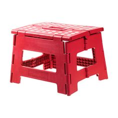 Rhino Folding Stool Red, $13, now featured on Fab. #KikkerlandDesigns