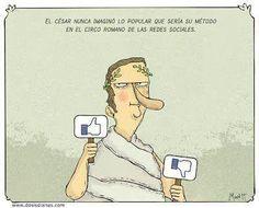 Los romanos, esos visionarios. #socialmedia