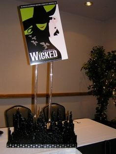 """We could do a different musical theme for each table  """"Broadway"""" Party by Vicki Feldman, via Behance"""