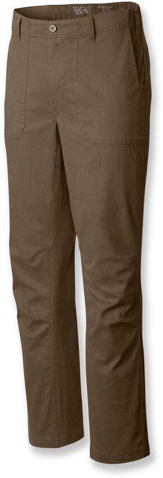 """Mountain Hardwear Male Loafer 2 Pants - Men's 30"""" Inseam"""