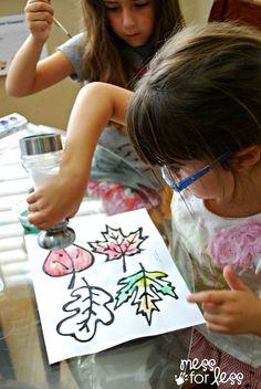 salt and watercolors