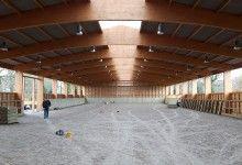 Glulam Equestrian Building Structure