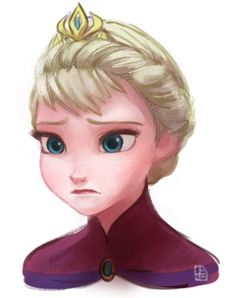 Hmmmm....chubby cheeks....someone needs to tighten the cheeks ...<<<<<<<<HOW DARE YOU SAY THAT TO ELSA! SHES BEAUTIFUL!