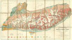 Géologie Massif du Mont Blanc, IGN