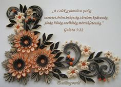 Quilling Flower Designs, Quilling Flowers, Quilling Patterns, Paper Flowers, Paper Quilling Cards, Quilling Paper Craft, Quilling 3d, Paper Crafts, Paper Structure