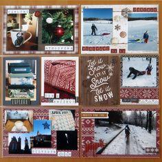 Pocket page 16 - End of 2018 // Konec roku 2018 Happy Mail, Advent Calendar, Snow, Pocket, Holiday Decor, Frame, Christmas, Picture Frame, Xmas