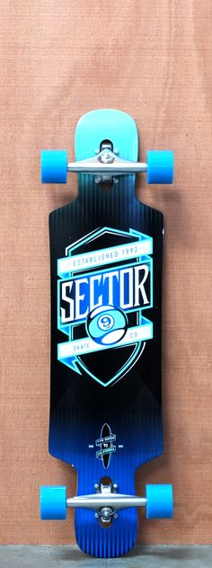 "Sector 9 38.5"" Sprocket Blue Longboard Complete"