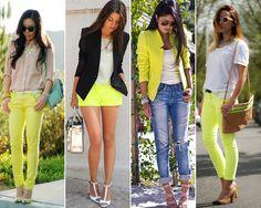 Yellow, Look
