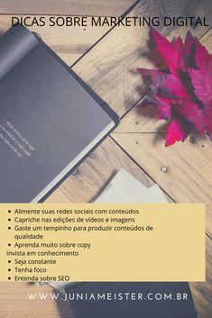 Marketing Digital, Video Editing, Social Networks, Tips