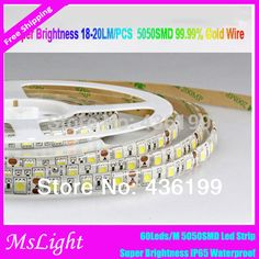 Cheap LED Strips on Sale at Bargain Price, Buy Quality LED Strips from China LED Strips Suppliers at Aliexpress.com:1,Model Number:ML-5050smd60led65 2,Led type :Led strip 5050,Led strip waterproof,Led strip 3528 3,Occasion:Bedroom 4,Brand Name:MsLight 5,Average Life (hrs):100000