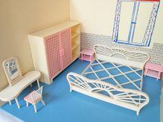 1959 Modella Schlafzimmer by diepuppenstubensammlerin, via Flickr