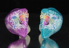 Love these #butterfly custom ES in ear monitors designed by Westone employee Jessica!