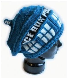 dr who knitting patterns