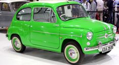 1954 FIAT 600 on display at Mumbai International Motor Show in Mumbai