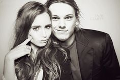 Mortal Instruments: City of Bones  Jace & Clary aka Jamie Campbell Bower & Lily Collins