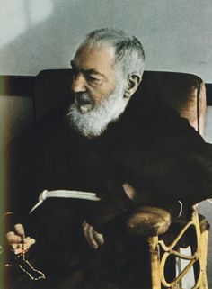 """St. Padre Pio was wont to carry a rosary in his hands. He even had to wash one hand at a time because """"he didn't want to leave the rosary beads, and passed the Rosary from one hand to the other."""" What's more, he would say anywhere from 30 to 50 rosaries in one day.  """"Some people are so foolish that they think they can go through life without the help of the Blessed Mother. Love the Madonna and pray the rosary, for her Rosary is the weapon against the evils of the world today. All graces…"""