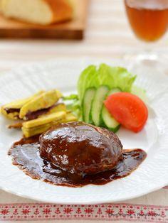 簡単デミグラスソースハンバーグ by 西山京子/ちょりママ | レシピサイト「Nadia | ナディア」プロの料理を無料で検索