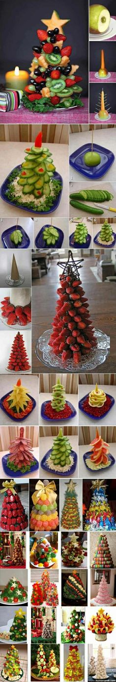 Christmas tree fruit display so cool! Especially in our warm climate! #Durban #Christmas #Wakefieldsway