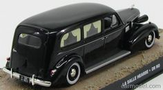 EDICOLA BONDCOL092 Skala: 1/43  CADILLAC LA SALLE HEARSE 1941 - CARRO FUNEBRE - FUNERAL CAR - 007 JAMES BOND - DR NO - LICENZA DI UCCIDERE BLACK