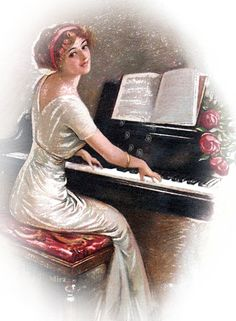 gifs animes femmes - Page 3 Beautiful Gif, Beautiful Pictures, Betty Boop, Animation, Musica Love, Piano Lessons For Beginners, Sing To The Lord, Les Gifs, Playing Piano