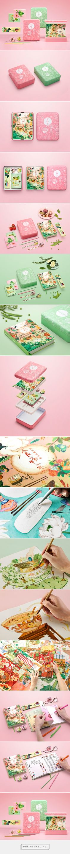 Love for Food Gift Box packaging design by Shenzhen Pure Creative - http://www.packagingoftheworld.com/2017/05/love-for-food-gift-box.html