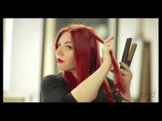 How to Curl Hair with a ghd | One Curl Two Looks - YouTube