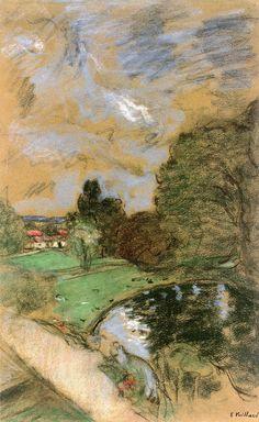 Stormy Sky - Edouard Vuillard 1932-38