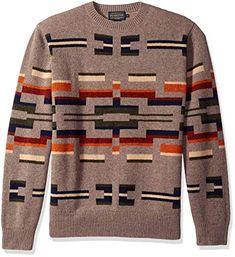 New Pendleton Men s Long Sleeve Outdoor Crew Neck Sweater Mens Fashion  Clothing.   178.40 - 4c3863bac