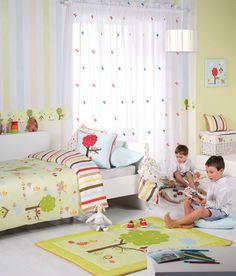 cortinas para el cuarto de los chicos! www.anabellazampini.com.ar